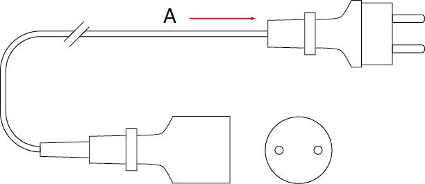 Przedłużacz mieszkaniowy PM/1-2-3